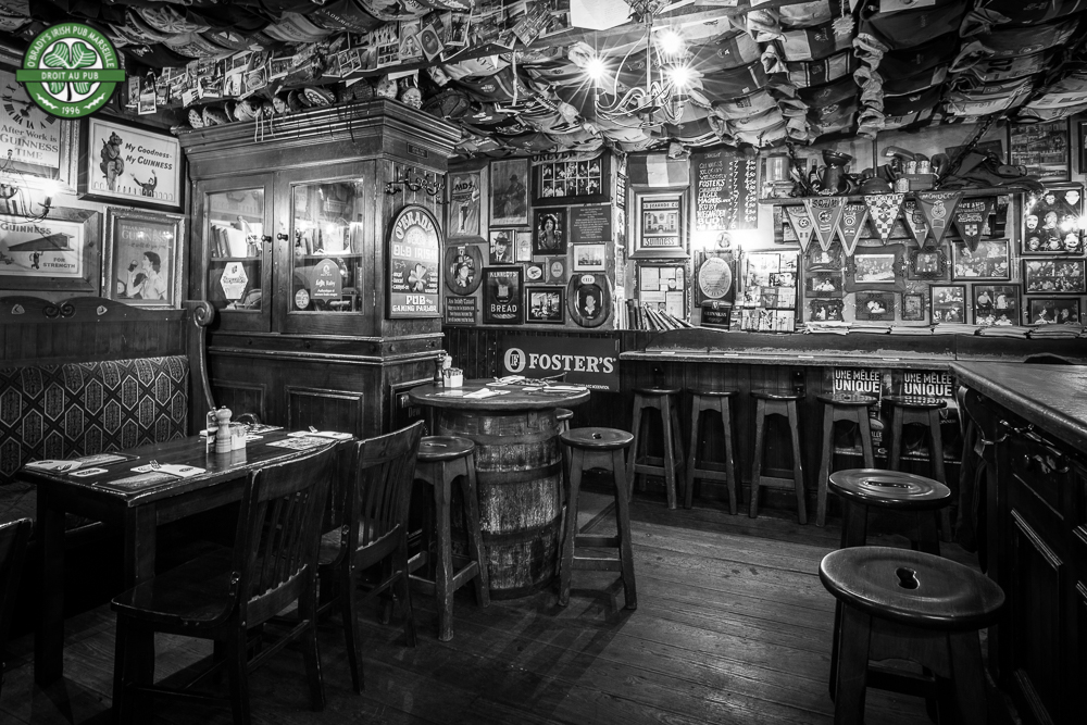 O'Brady's Irish Pub , Marseille. Photography for social media.