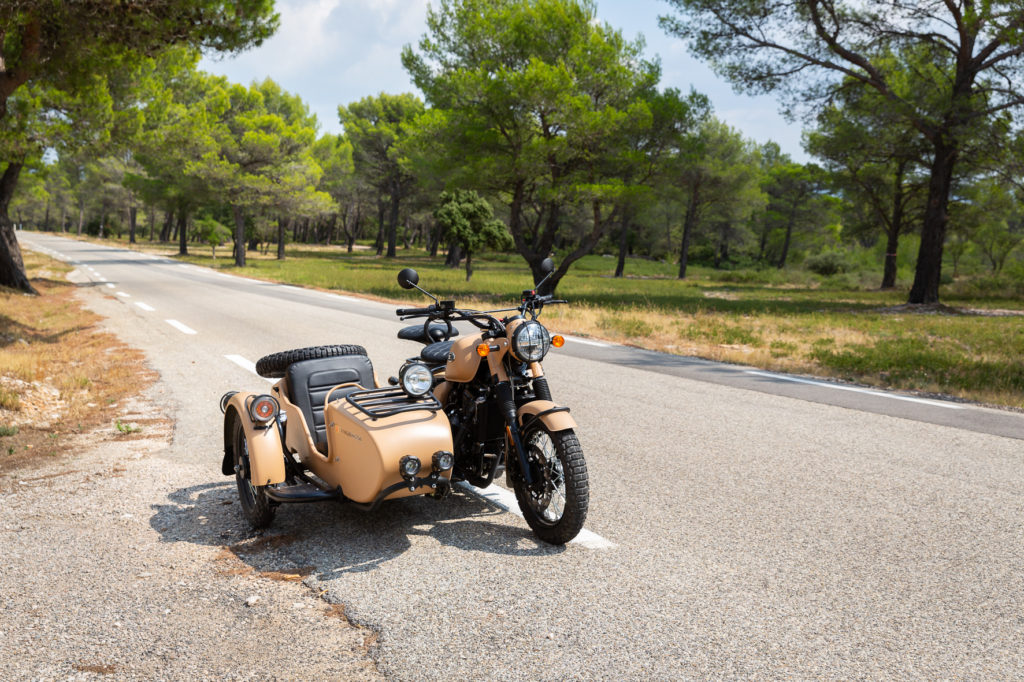 Thomas Kendall, photographer, Marseille, Southern France, Motorbike and sidecar